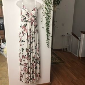 New Women's Maternity Sweetheart Party Maxi Dress
